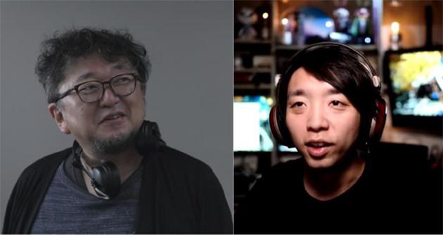 映像制作の未来について語り合う、落合陽一(右)と樋口真嗣(左) ?2021「シン・ウルトラマン」製作委員会 ?円谷プロ